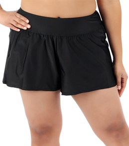 Delta Burke Solid Swim Short