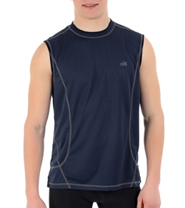 Alo Men's Tranquility Sleeveless Yoga Tee