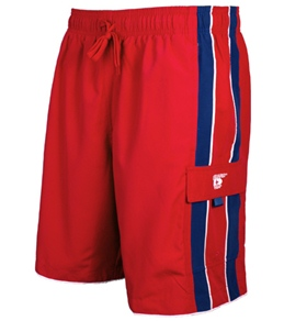 Speedo Mens' Lifeguard Piped Short