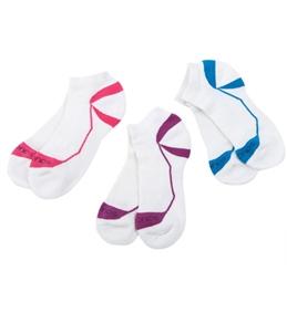 Saucony Women's Contour Running Socks - 3 Pack