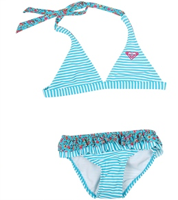 Roxy Kids' Sand Blossom Reversible Halter Set (7-16)