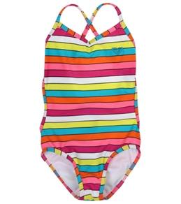 Roxy Kids' Caliente Sun Cross Over Monokini (2T-6X)