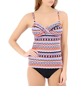 Kenneth Cole That's Swanky Tankini Top