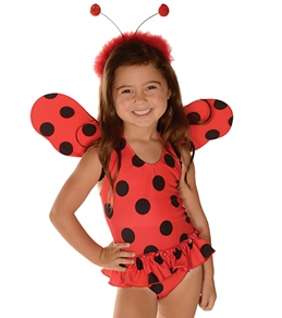Teeny Wingkini Girls' Lil' Lady Fairy Fun Swimwear (12mos-7yrs)