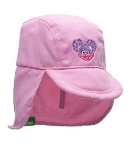 Coppertone Sesame Street Infant Unisex Legionnaire Hat (3-18mos)