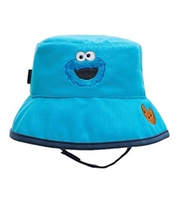 Coppertone Sesame Street Infant Unisex Bucket Hat (3-18mos)