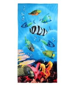S B Designs Aquarium 30x60 Towel