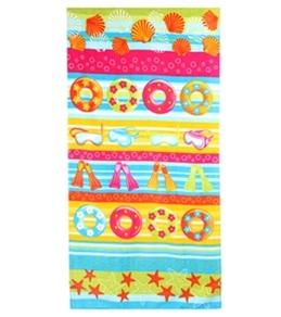 S B Designs Beach Fun 30x60 Towel