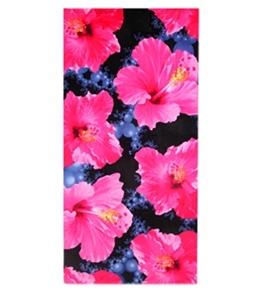 S B Designs Hibiscus 30x60 Towel