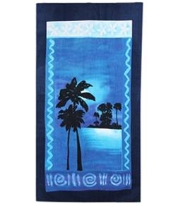 S B Designs Midnight Palm 30x60 Towel