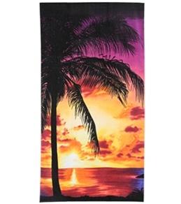 S B Designs Palm Silhouette 30x60 Towel