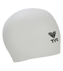 TYR Solid Latex Junior Swim Cap