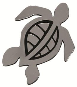"""Wet Products """"Turtle"""" Car Emblem"""