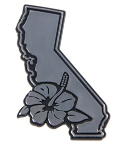 "Wet Products ""California Surf"" Car Emblem"
