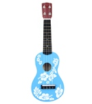 Wet Products Ukulele Floral Face Painted 20