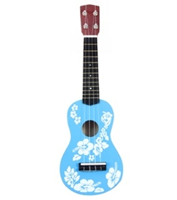 Wet Products Ukulele Floral Face Painted 20""