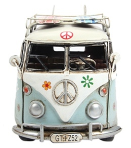 "Wet Products Classic Peace Van 8"" W/ Rack"