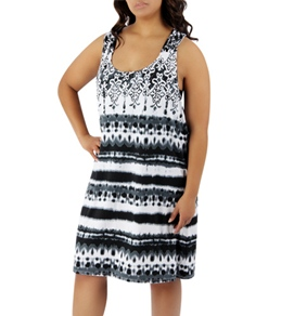 Dotti Plus Size Tied and True Racerback Dress