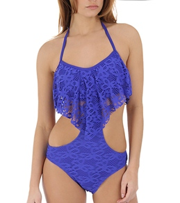 Kenneth Cole Reaction Island Fever Crop Top Monokini