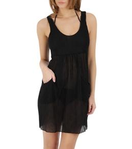 J. Valdi Pleated Jersey Scoop Pocket Dress
