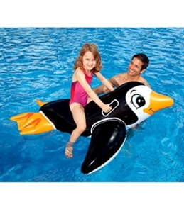 Intex Lil' Penguin Ride-On