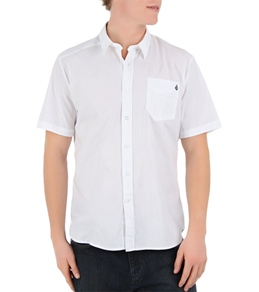 Volcom Men's Why Factor Solid S/S Shirt