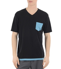 Volcom Men's Capped S/S Knit Tee