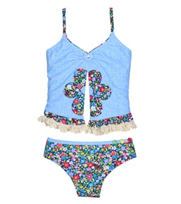 Hula Star Wonderland Tankini Set (2T-6X)