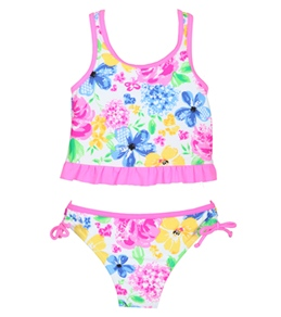 Hula Star Tea Time Tankini Set (2T-6X)
