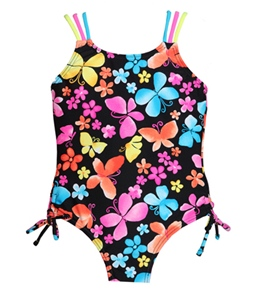 Hula Star Dancing Butterfly One Piece (2T-6X)