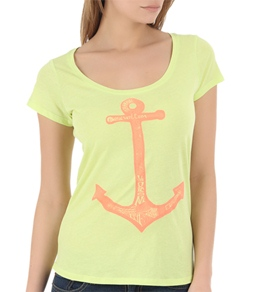 Volcom Women's Undersee Scoop Neck Tee