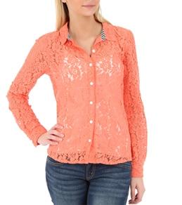 Volcom Women's Not So Classic L/S Shirt