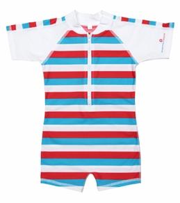 Snapper Rock Baby Boys' Stripes S/S Sunsuit (0-2yrs)