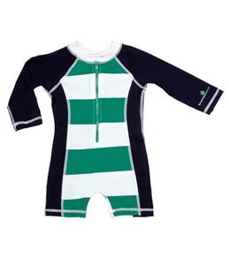 Snapper Rock Baby Boys' Stripes L/S Sunsuit (0-2yrs)