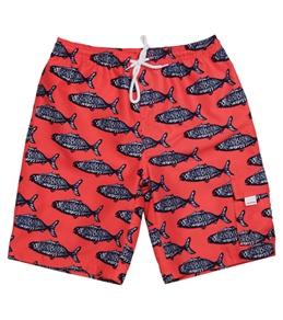Snapper Rock Boys' Hampton Fish Boardshort (4-12yrs)