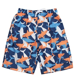 Snapper Rock Boys' Sharks Boardshort (4-12yrs)