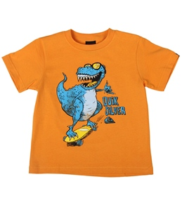 Quiksilver Kids' Dino Shred S/S T-Shirt (4T-7X)