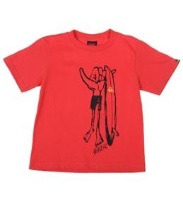 Quiksilver Kids' Dobrah S/S T-Shirt (4T-7X)