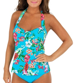 Sunsets Morning Breeze Halter D-Cup Tankini