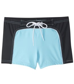 Sauvage 70s Surfer Square Cut Swim Short