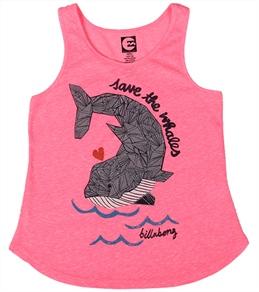 Billabong Billie Girls' Swimming All Day Tank (4-16)
