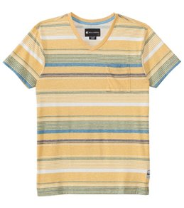 Billabong Men's Made Henley S/S Tee
