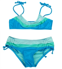 O'Neill Youth Girls' Color Block Bandeau Set (7-14)