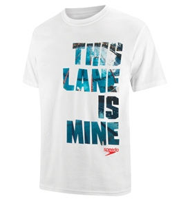Speedo Men's This Lane Is Mine S/S Tee