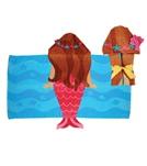 stephen-joseph-kids-mermaid-hooded-towel