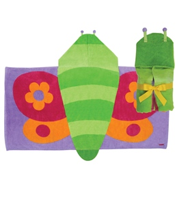 Stephen Joseph Kids' Butterfly Hooded Towel