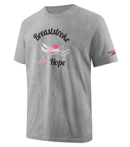 Speedo Men's Breast Stroke 4 Hope S/S Tee