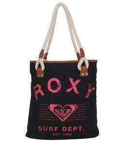 Roxy Stop Start Black Tote