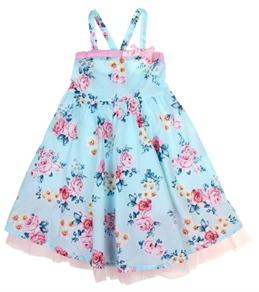 Seafolly Girls' Rococo Rose Sun Dress (2-7yrs)