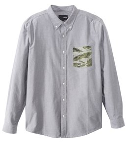 Hurley Men's Ace Oxford L/S Shirt